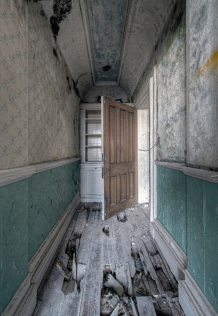 abandonded girls school